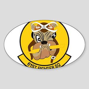 61st_fighter_sq Sticker