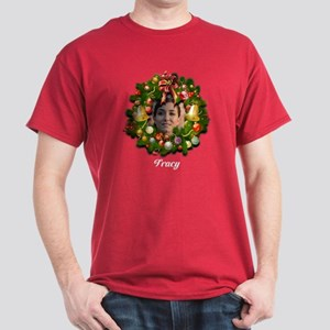 Customizable Christmas Wreath T-Shirt