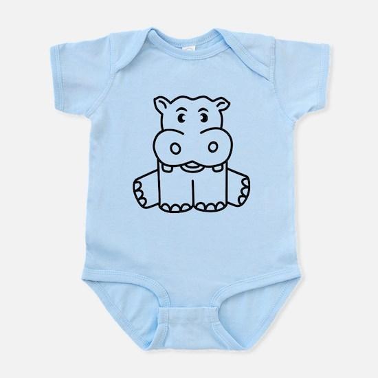 Happy Hippo Body Suit
