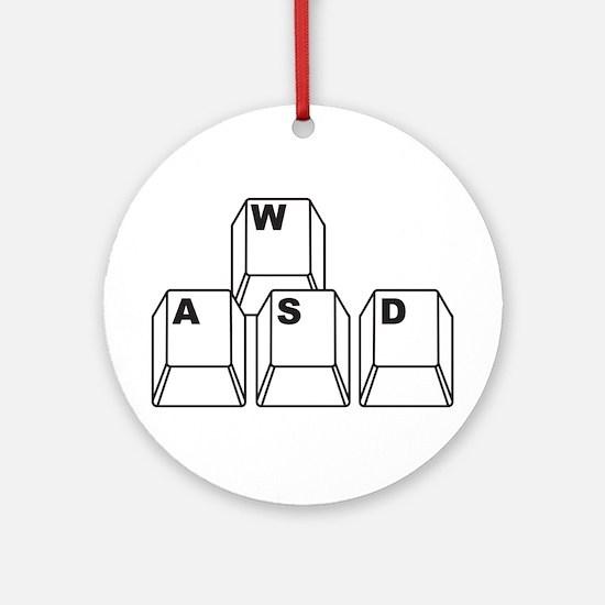 WASD Ornament (Round)