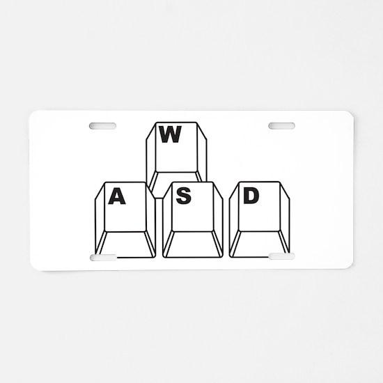 WASD Aluminum License Plate