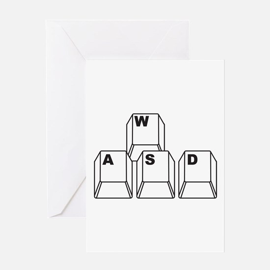 WASD Greeting Cards