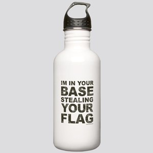 Im In Your Base Stealing Your Flag Sports Water Bo