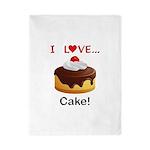 I Love Cake Twin Duvet