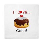 I Love Cake Queen Duvet