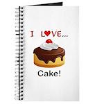 I Love Cake Journal