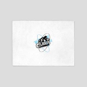 DJ Turntablism 5'x7'Area Rug