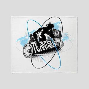 DJ Turntablism Throw Blanket