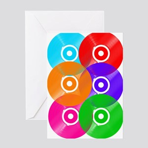 Vinyl Colors Wall Art Greeting Cards