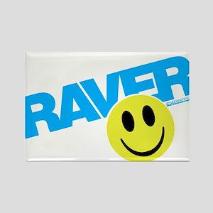 Raver Smiley Magnets