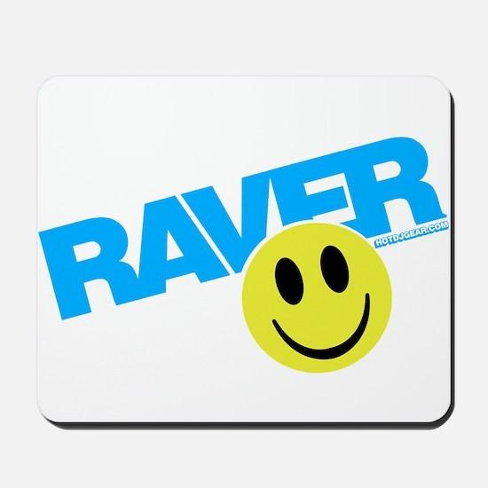 Raver Smiley Mousepad
