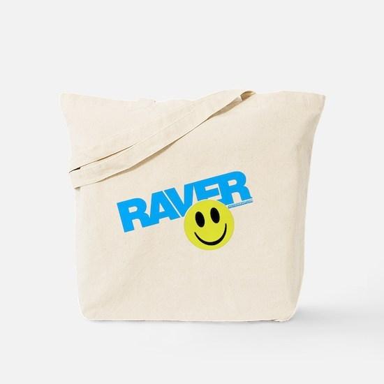 Raver Smiley Tote Bag