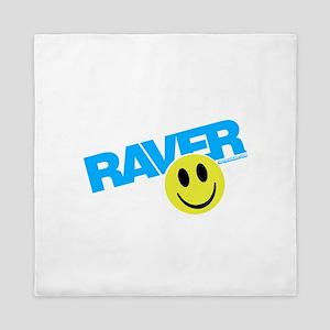 Raver Smiley Queen Duvet
