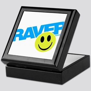 Raver Smiley Keepsake Box