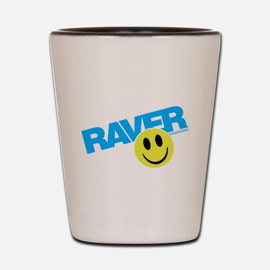 Raver Smiley Shot Glass