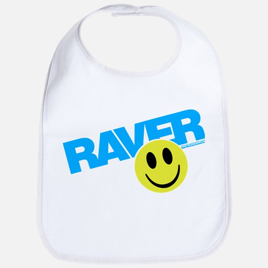 Raver Smiley Bib