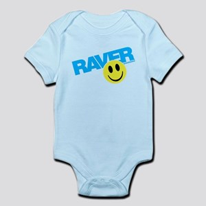 Raver Smiley Body Suit