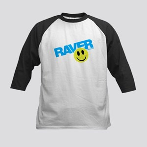 Raver Smiley Baseball Jersey
