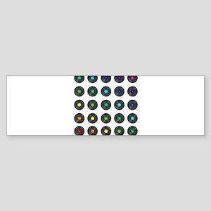 Vinyl Record Wall Art Bumper Sticker