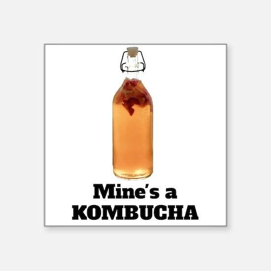 Mine's a KOMBUCHA Sticker