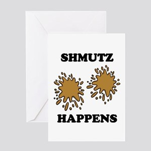 Shmutz Happens Greeting Cards