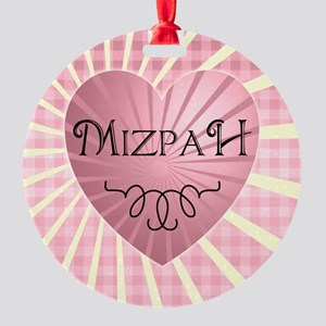 Mizpah Round Ornament