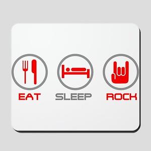 Eat Sleep Rock Mousepad