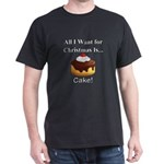 Christmas Cake Dark T-Shirt