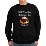 Christmas Cake Sweatshirt (dark)