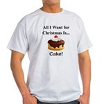Christmas Cake Light T-Shirt