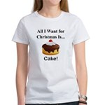 Christmas Cake Women's T-Shirt