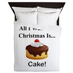 Christmas Cake Queen Duvet