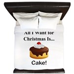 Christmas Cake King Duvet