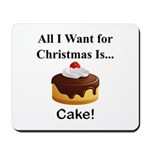 Christmas Cake Mousepad