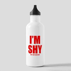 Im Shy But I Got A Big Dick Sports Water Bottle