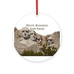 Mount Rushmore Ornament (Round)