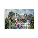 Mount Rushmore Rectangle Magnet (10 pack)