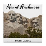 Mount Rushmore Tile Coaster