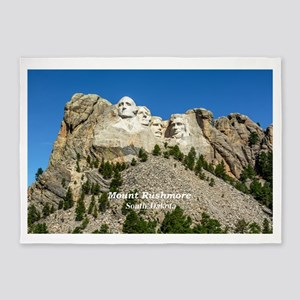 Mount Rushmore 5'x7'Area Rug