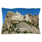 Mount Rushmore Pillow Case