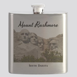 Mount Rushmore Flask