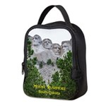 Mount Rushmore Neoprene Lunch Bag
