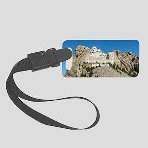 Mount Rushmore Small Luggage Tag