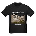 Mount Rushmore Kids Dark T-Shirt