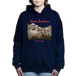 Mount Rushmore Women's Hooded Sweatshirt