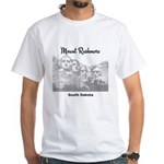 Mount Rushmore White T-Shirt