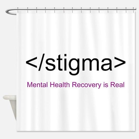 End Stigma HTML Shower Curtain