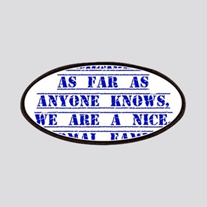 Remember As Far As Anyone Knows Patches