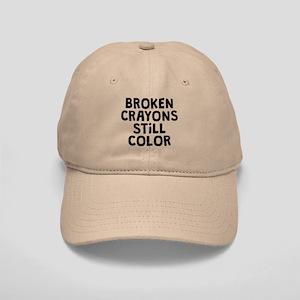 Broken Crayons Cap
