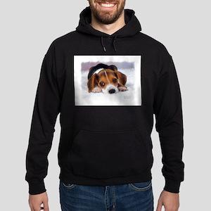 Pocket Beagle painting Hoodie